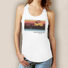 Lake Time is Best Time -Signature Tri-Blend Racerback