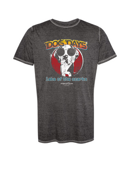 Dog Days Vintage Rock Mineral Wash Crew