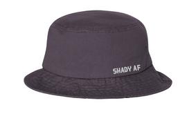 Shady AF Charcoal Bucket Hat