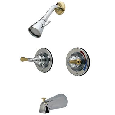KB674 - Polished Chrome/Polished Brass