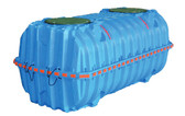 1287 Gallon Injection Molded Poly Underground Potable Storage Tank