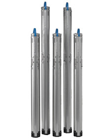 Grundfos 10SQ Submersible Pumps (10 GPM @ 47 psi to 142 psi)