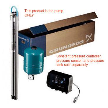 5SQE - Constant Pressure Pump (5 GPM @ 39 psi to 195 psi)
