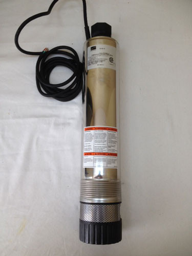 4 Quot Multi Stage Submersible Effluent Pump Stainless Steel