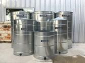 80 - 500 Gallon Texas Metal Tank - Galvanized Steel