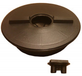 "16"" Lid with 4"" Cap Opening & Mounting Ring for Water Storage Tank"