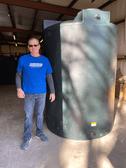1150 Gallon Water Storage Tank Green - PM1150