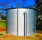 "XL01/2 3,249 Gallon - Pioneer Water Storage Tank,(8' 10"" Diameter x 7' 3"" Height) (Catalogue Only) Zinc"