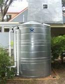Round Galvanized Steel Water Storage Tank