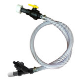 Tank to Pump Suction Hose Assembly with Inline Pre-Pump Filter