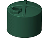 1600 Gallon Rotoplas Rainwater Harvesting Water Storage Tank