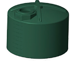 2000 Gallon Rotoplas Rainwater Harvesting Water Storage Tank