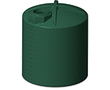 3000 Gallon Rotoplas Rainwater Harvesting Water Storage Tank