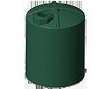 6500 Gallon Rotoplas Rainwater Harvesting Water Storage Tank