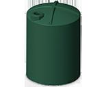 12,000 Gallon Rotoplas Rainwater Harvesting Water Storage Tank