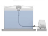 Raintech 2500 Gallon Above Ground Complete Rain Harvesting Package - Rotoplas Tank