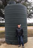 5100 Gallon Rotoplas Rainwater Harvesting Water Storage Tank