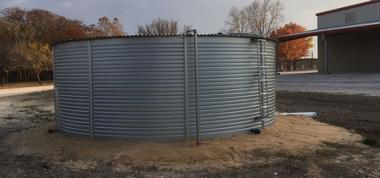 16,000 Gallon - Pioneer Water Storage Tank drawing - Model XL13