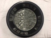 "16"" High Flow Leaf Filter Basket w/ Light Guard (LSLGHF400) top view"