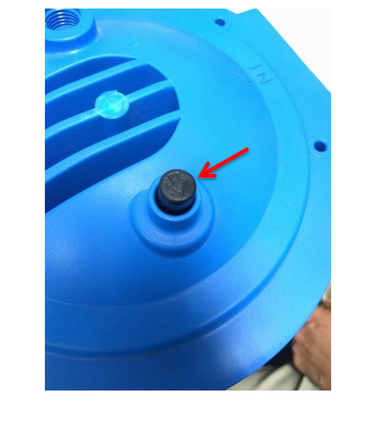 """This Pressure Relief Button is a replacement for Viqua 4.5"""" x 20"""" and 4.5"""" x 10"""" Filter Housings"""