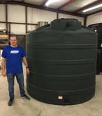"2500 Gallon Water Storage Tank (96""x 90"")"