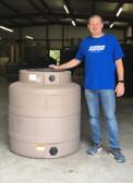 200 Gallon Mocha