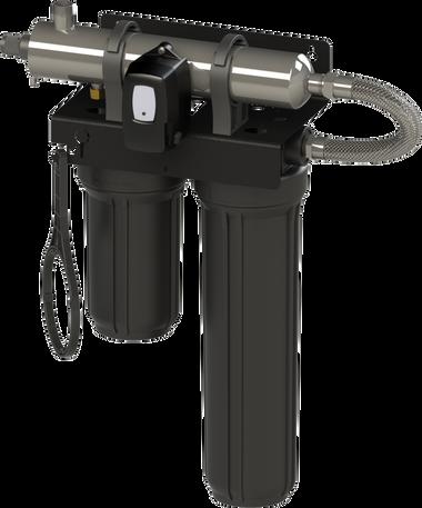 BLACKCOMB LB5-Z12 WHOLE HOME 8 GPM UV/FILTRATION UNIT W/ LAMP TIMER CONTROLLER 5.1 (DIGITAL SCREEN)