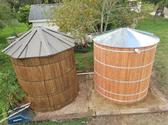 3000 Gallon Tiny Timber Water Tank (tT-8X8)
