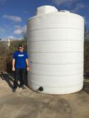 4100 Gallon White 1.9 Liquid Storage Tank (32323-Clearance)