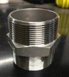 "1"" Stainless Steel Hex Nipple (1-INCH-SS-HEX-NIPPLE)"