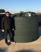 2000 Gallon Rain Harvesting Tank* Green (32555RH)