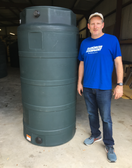 300 GALLON WATER STORAGE TANK (32501-Clearance)