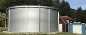 12,946 Gallon - Pioneer Water Storage Tank - Model XLE10 (PWT-XLE10-ZN)