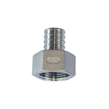 PEX Female Adapter - 316 Stainless Steel (Package of 10) (PEX-F)
