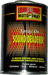 Motospray Sound Deadener Spray on 1L (MSSDS-1L)