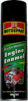 Motospray Engine Enamel Yellow Burst 400g (MSEE-400G)