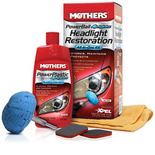 Mothers Headlamp Restoration Kit  (07250)