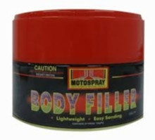 Motospray Body Filler 1kg (MSLW-1KG)