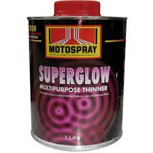 Motospray Superglow Thinners 4L (MSGPT-4L)
