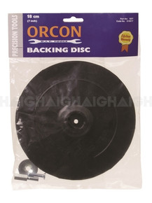 "Backing Disc Rubber 7"" (SD7)"