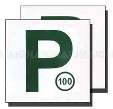 P Plate Set Green Magnetic (MP2G)