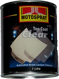 Motospray Top Coat Clear 1ltr (MSTCC-1L)