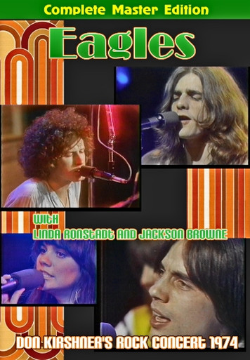 eagles with linda ronstadt on dvd