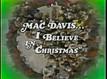Mac David Christmas Special dvd