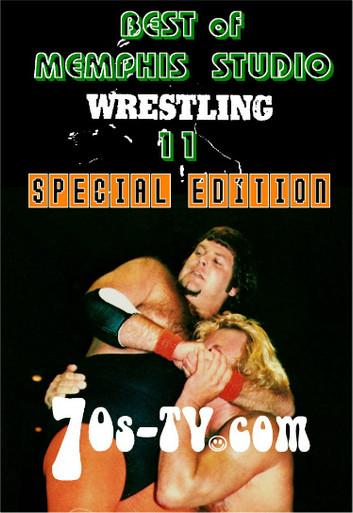 best of memphis studio wrestling 11 dvd