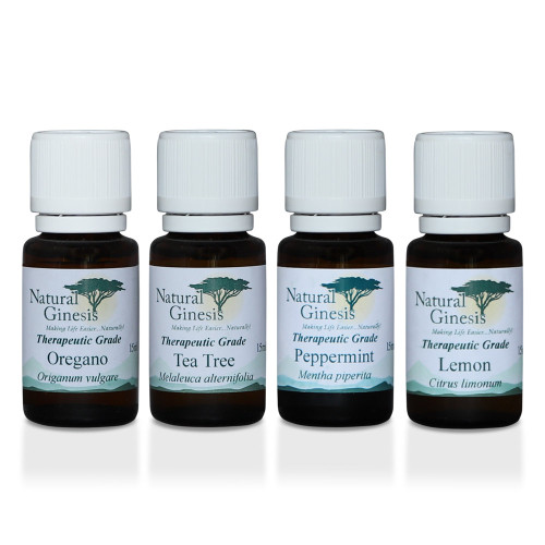 Cold and Flu Essential Oil Pack