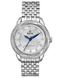 Bulova Women's Precisionist Brightwater Watch 96R154