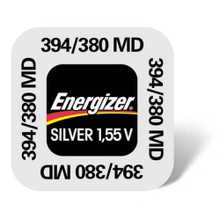 5X  Energizer 394/380 - SR936SW Swatch Chrono Watch Battery