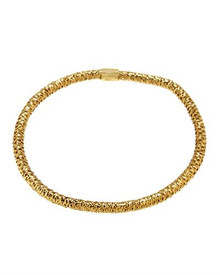 Made in Italy Gold plated Silver Bracelet.