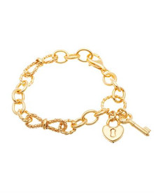Made in Italy Gold plated Silver Bracelet